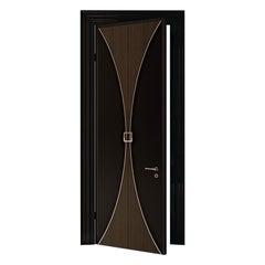 21st Century Carpanese Home Italia Door with Metal Details Modern, 7800