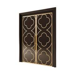 21st Century Carpanese Home Italia Wooden Door Neoclassic, 6802