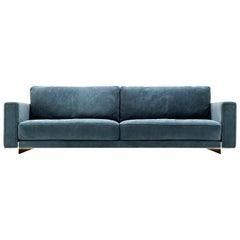 Contemporary Hector Slim 2 Seater Sofa by Castello Lagravinese