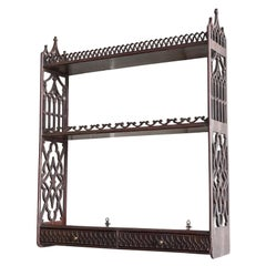 Early 19th Century Gothic Hanging Shelves