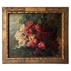 """Chaleye Jean """"Bouquet of Roses"""" Panel"""
