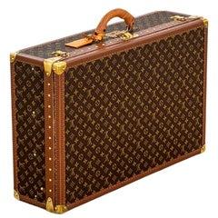 20th Century Louis Vuitton Suitcase Bisten 75 Classic Monogram Canvas '80s
