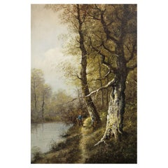 """Godchaux Emile """"Landscape of Underwood"""""""