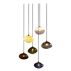"""Starglow Ceiling Lamp, Hand-Blown Murano Glass, 2021, Size """"S"""""""