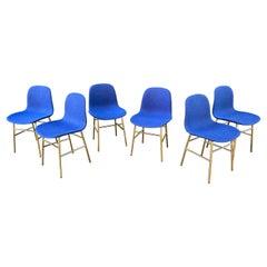Normann Copenhagen Set of 6 Upholstered Dining Chairs