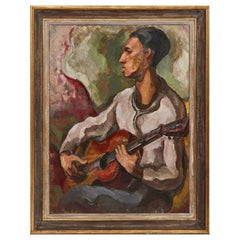"""""""The Guitar Player"""" by Otto Niebuhr"""