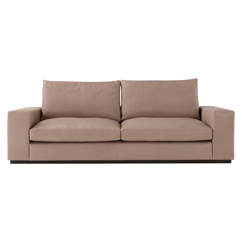 Amura 'Murray' 2-Seat Sofa in Tan Leather by Amura 'Lab
