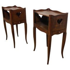 Pair of Mid-20th Century French Night Stands