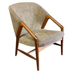 Danish Modern Teak Upholstered Armchair for Raymor