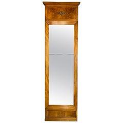 Early 19th Century German Biedermeier Pier Mirror