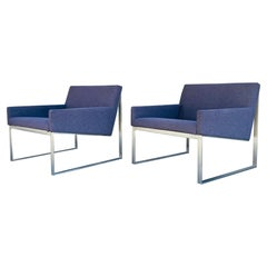 Pair of B.3 Armchairs by Fabien Baron for Bernhardt