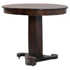 1880s United Kingdom Wooden Table on Wheels