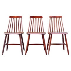 Vintage Ikea 1982 Dining Chair Modell Per Set of 3