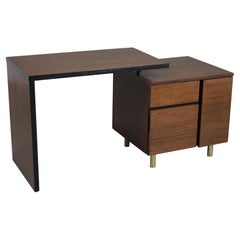 Mid-Century Modern Swivel Desk