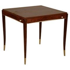 DIM 'Joubert et Petit' Art Deco Game Table