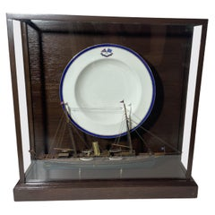 Rare Porcelain Dish from Yacht Corsair W Model