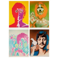 The Beatles 1967 Special Look Magazine Offset Lithograph Posters, Avedon