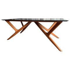 Eugenio Escudero Dining Table or Desk, 1950s