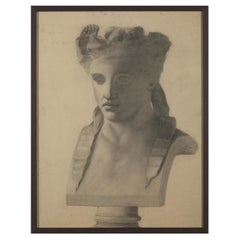 19th C, Drawing on Paper, Dated, Signed and Framed