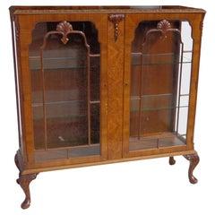 Art Deco Display Curio Cabinet