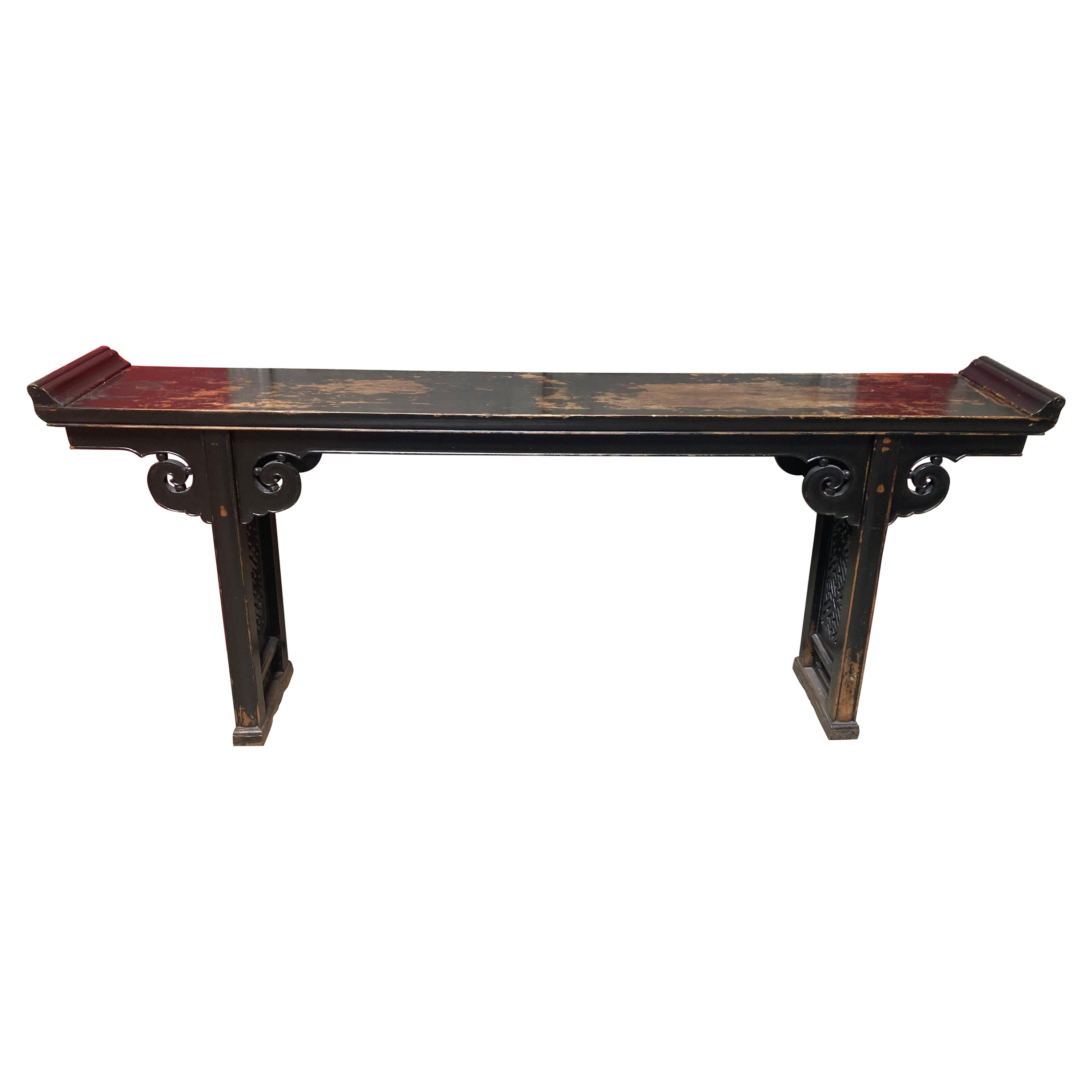 19th Century Chinese Alter Table