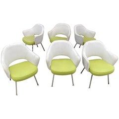 Eero Saarinen for Knoll Set of 6 Executive Armchairs