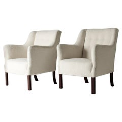 Pair of Lounge Chairs by Einar Larsen