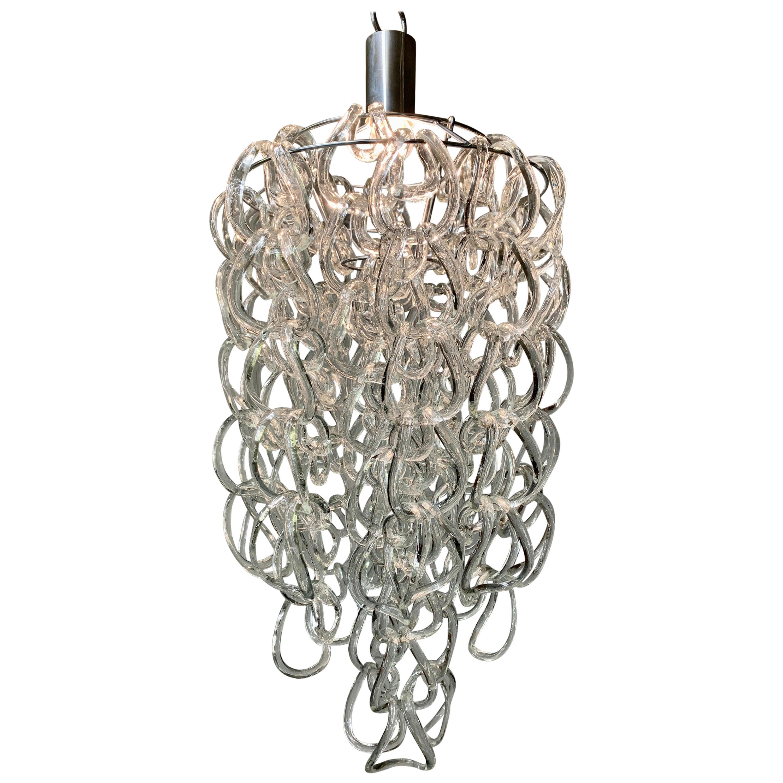 Pendant Lamp by Angelo Mangiarotti for Vistosi