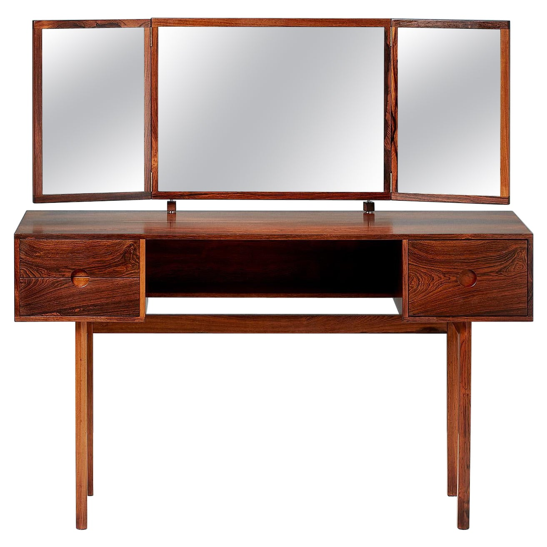 Kai Kristiansen 1950s Rosewood Dressing Table