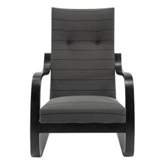 Finnish Design Classic Lounge Chair No 401 by Alvar Aalto, 1930s