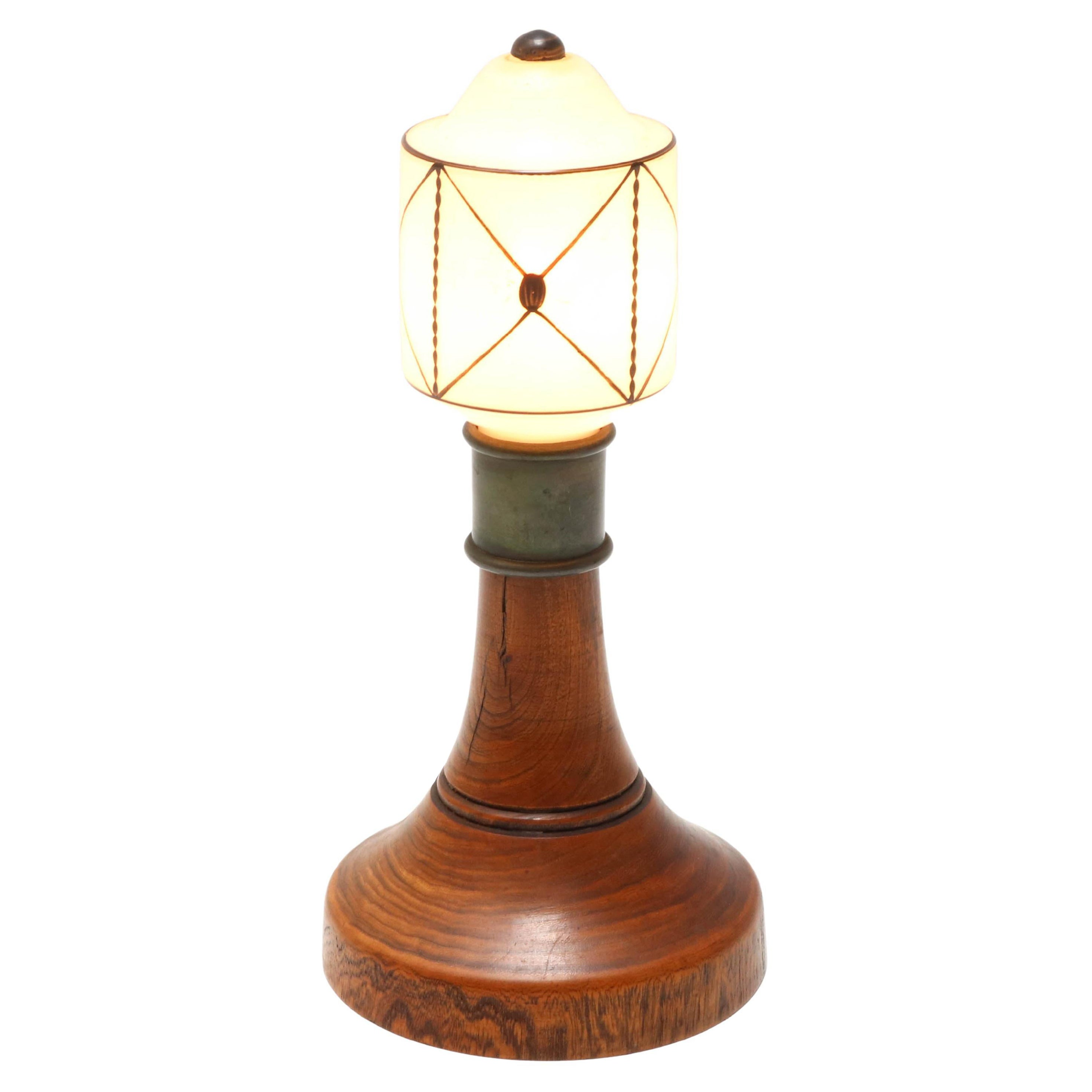 Art Nouveau Arts & Crafts Table Lamp, 1900s