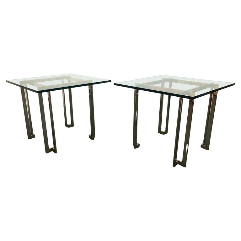 Pair Paul M. Jones End Tables For Sale