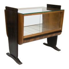 Art Deco Bar by Jindrich Halabala, 1930s, Four Items Available