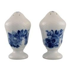 Royal Copenhagen Blue Flower Curved Salt and Pepper Shaker
