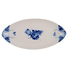 Royal Copenhagen Blue Flower Braided Tray, Model Number 10/8124, Dated 1964