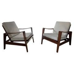 Arne Wahl Iversen Set of 2 Armchairs for Komfort, 1960's
