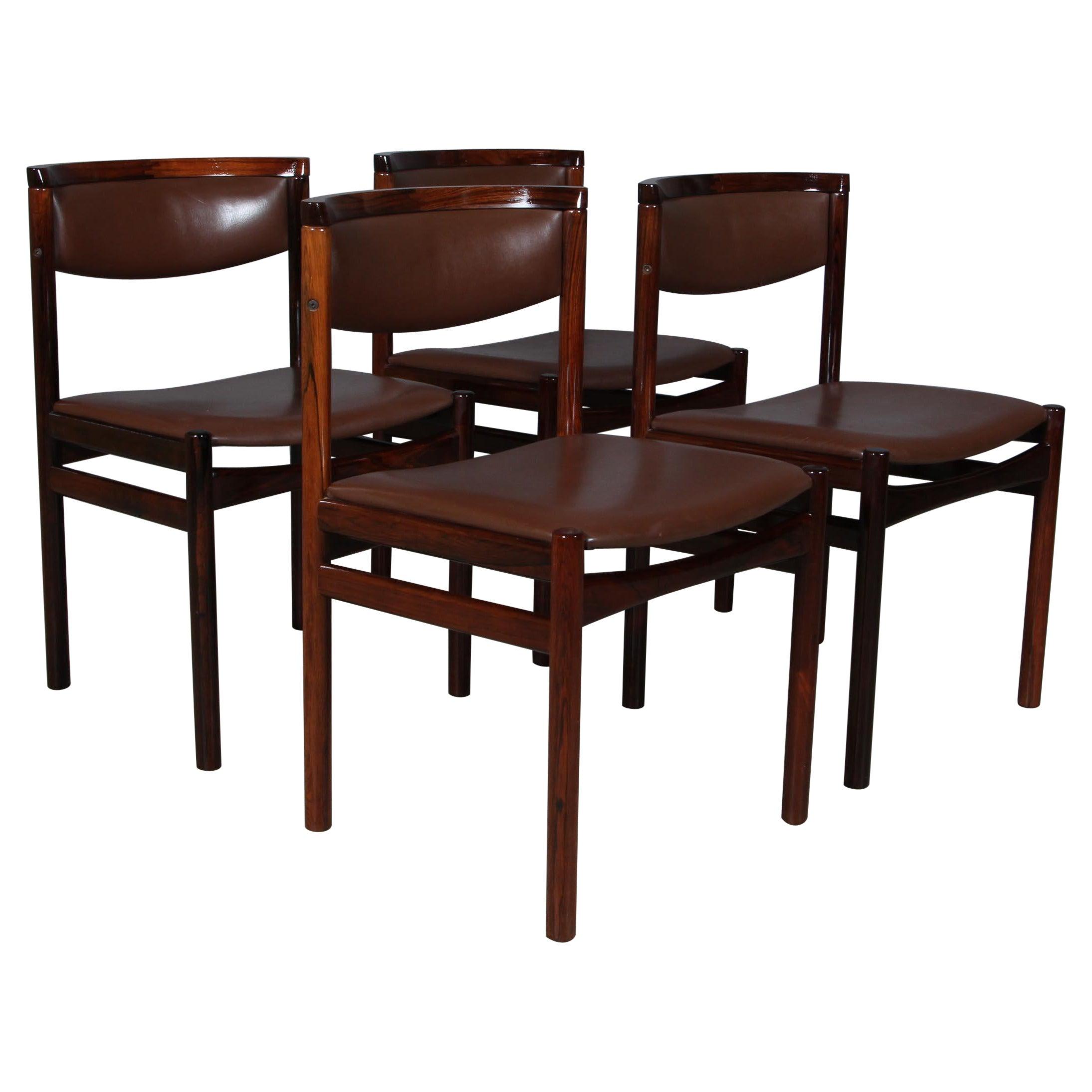 Kurt Østervig, Four Dining Chairs