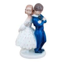 Porcelain Figurine Bing & Grondahl, No. 2162