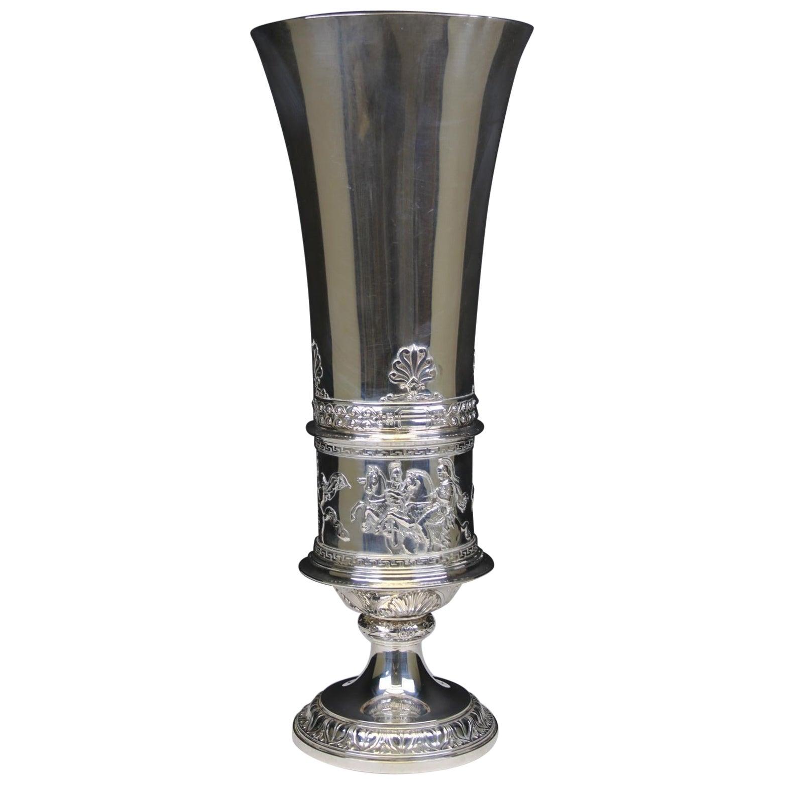 Large Silver Cup Vienna 1860 Josef Carl Klinkosch