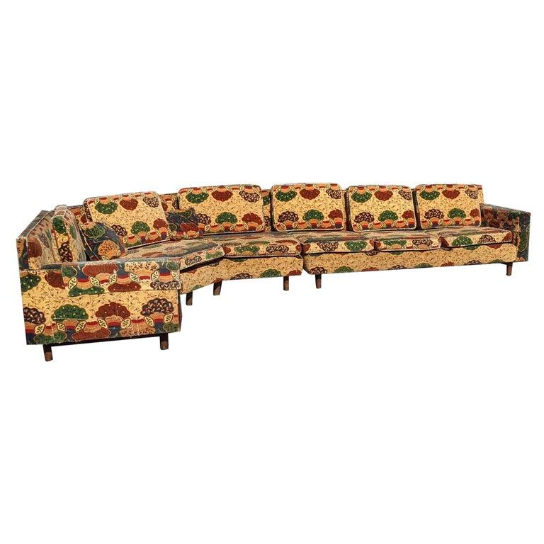 Dunbar Wormley 2 Piece Sectional Sofa For Sale