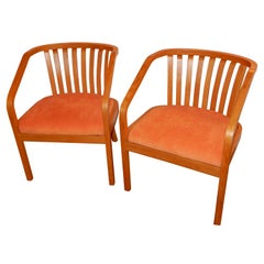 Outstanding Pair of Hand Crafted Danish Modern Chairs, c1970s