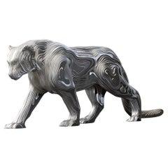 Panther Polished Medium Sculpture