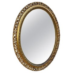 Early 20th Century French Giltwood Wall Mirror