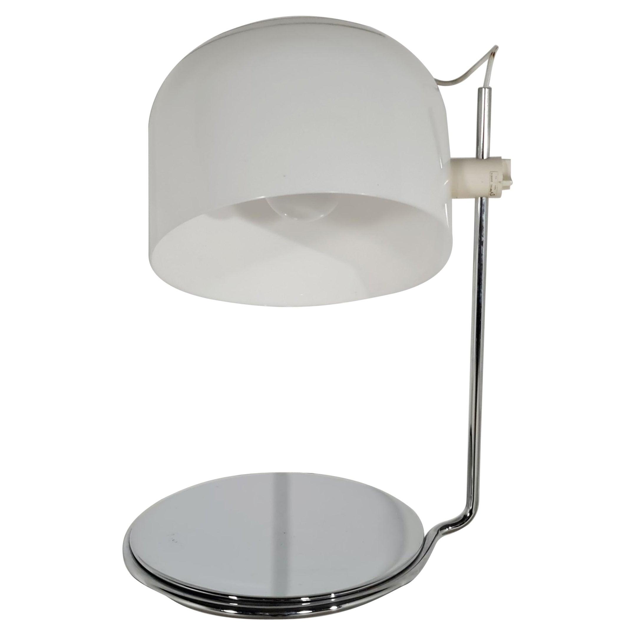 Harvey Guzzini Adjustable Table Lamp, 1960s