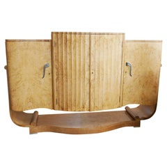 Art Deco Cocktail Sideboard by Harry & Lou Epstein English, Circa 1935