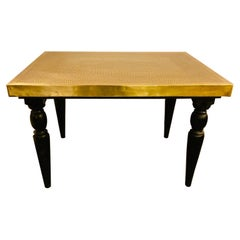 Hollywood Regency Style Brass Center or End Table