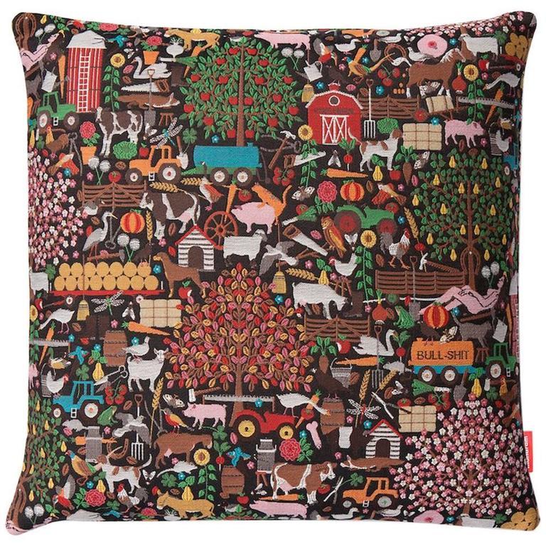 "Maharam and Studio Job No.52 ""Naughty Bavaria Pillow"" in Cotton, 2013"