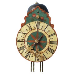 c.1710 South German Wall Clock