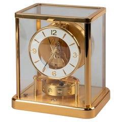 Late 20th Century Jaeger Lecoultre ATMOS 540 Elysee Mantle Clock
