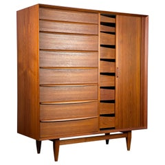 Danish Modern Dresser Large Chest by Arne Wahl Iversen for Falster
